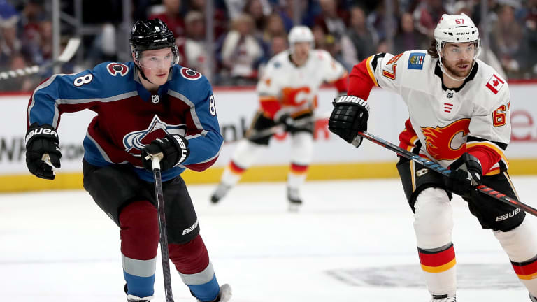 Watch: Avalanche Rookie Cale Makar Scores in Playoff Debut After Frozen Four at UMass