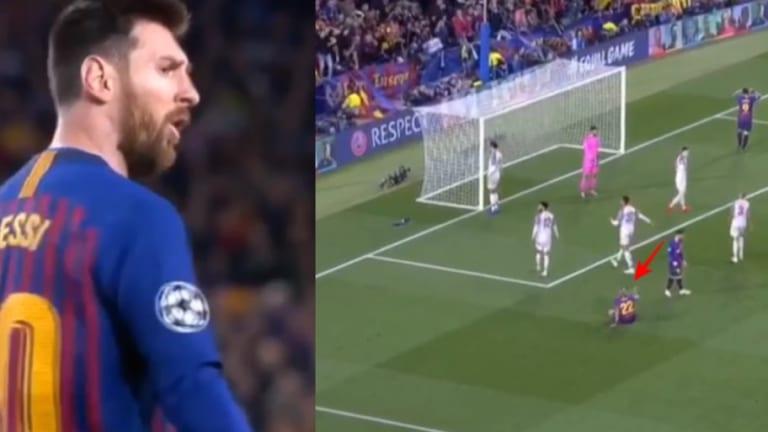 El enfado de Messi con Vidal en pleno partido ante el Liverpool