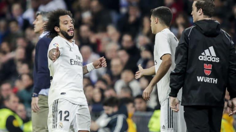Marcelo responde con ironía a un 'meme' que lo culpa de todos los males del Real Madrid