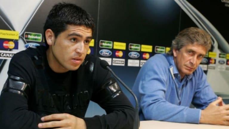 """Las duras declaraciones de Pellegrini contra Riquelme: """"Quería ser el número 1 y hacía estupideces"""""""