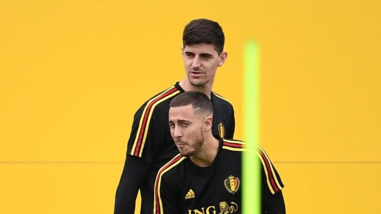 Courtois asegura que a Hazard le gustaría fichar por el Real Madrid