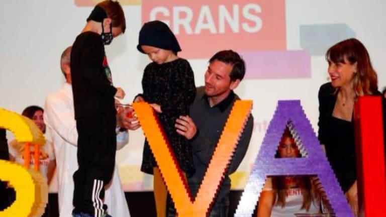 La Fundación Leo Messi dona 100 mil euros para financiar la investigación del cáncer infantil