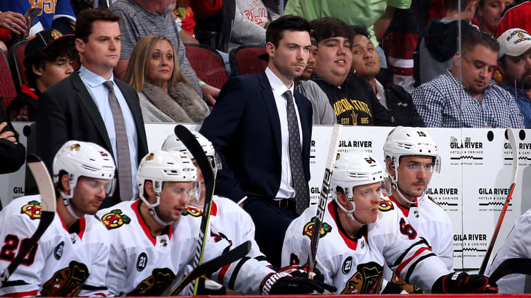 Jeremy Colliton Looking Forward to Camp With New-Look Blackhawks