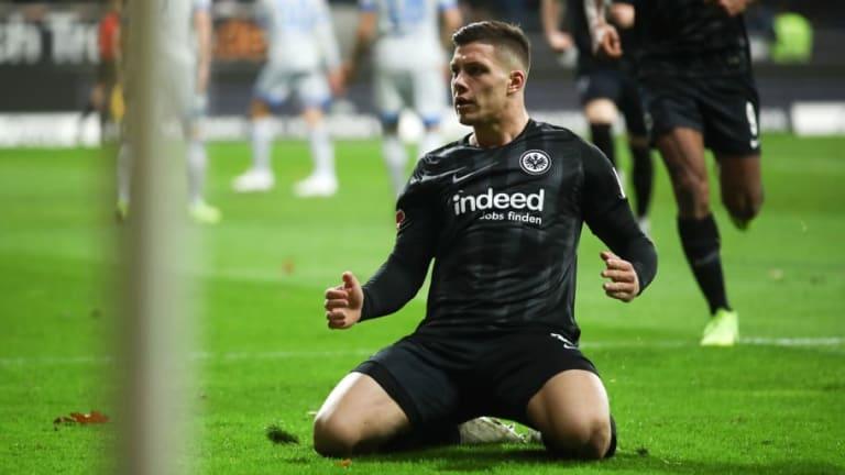 Manchester City Weigh Up Eintracht Frankfurt Striker Luka Jovic as Summer Transfer Target