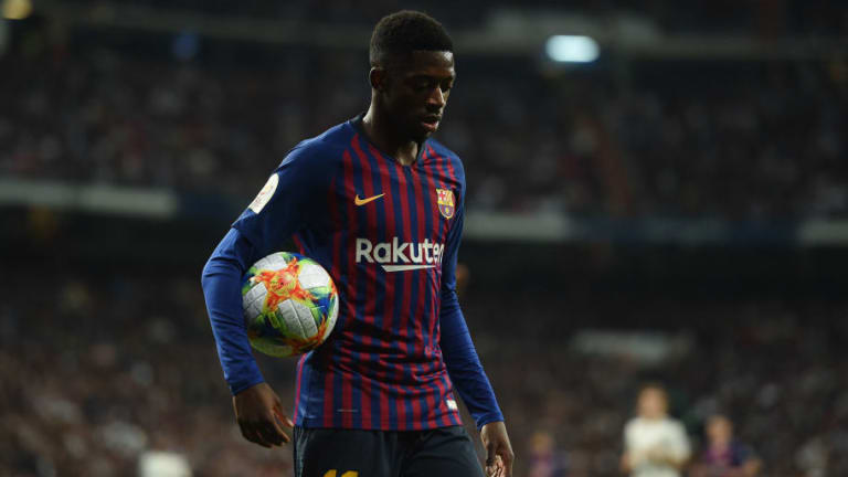 Ousmane Dembele Set for Race to Be Fit for UCL Quarter Final as Barcelona Confirm Hamstring Injury