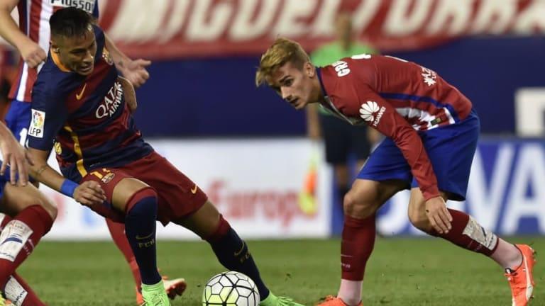 La comparativa estadística entre Neymar y Griezmann