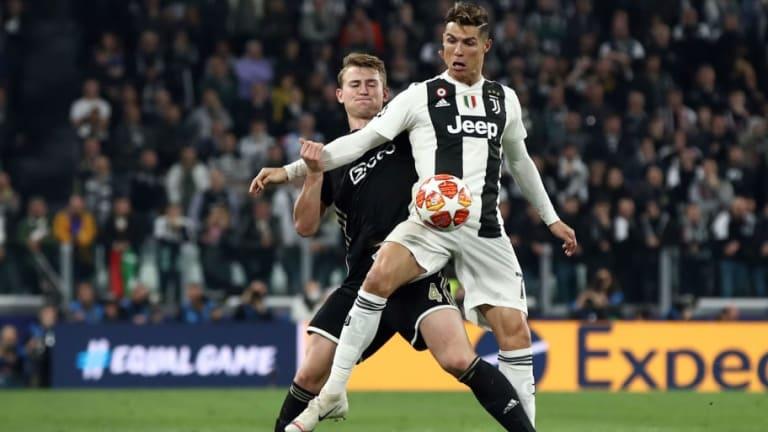El guiño de De Ligt a Cristiano Ronaldo que le acerca a la Juventus