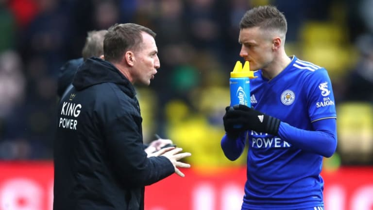 Brendan Rodgers Reveals 'Love' for Jamie Vardy as He Bids to Create Free-Scoring Leicester Side