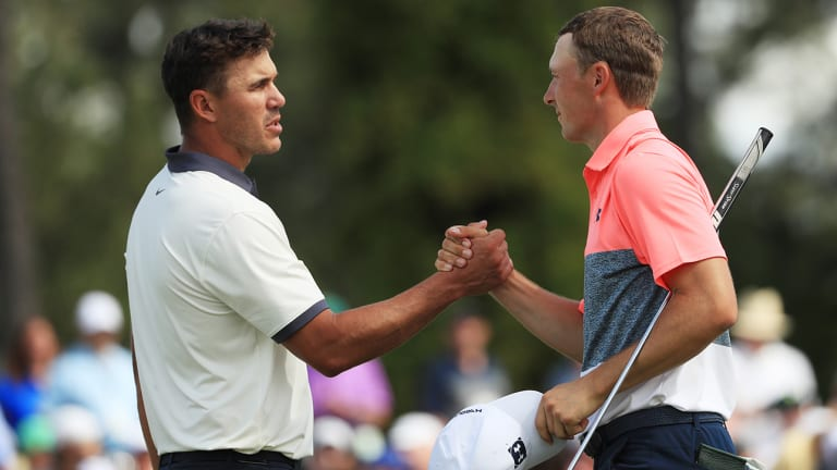 Brooks Koepka and Jordan Spieth's Scores Differ, but One Thing Remains the Same
