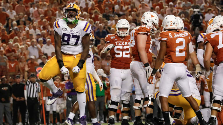 AP Top 25 Poll: LSU Moves Up to Give SEC Three of Top Four in AP Poll