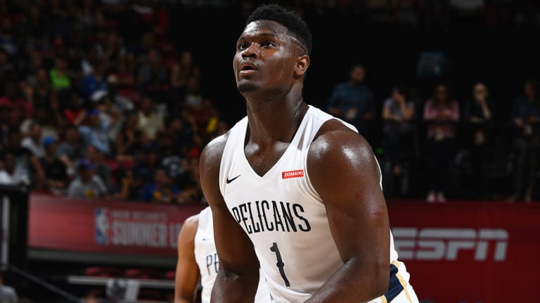 Zion Williamson Exits Summer League Debut as Precaution After Knee-to-Knee Contact