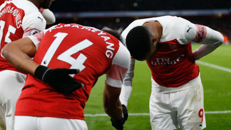 Pierre-Emerick Aubameyang Reveals What Alexandre Lacazette Told Him in Viral Clip During Man Utd Win