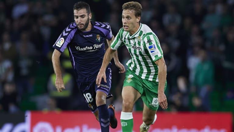 Valladolid - Betis   Alineaciones confirmadas