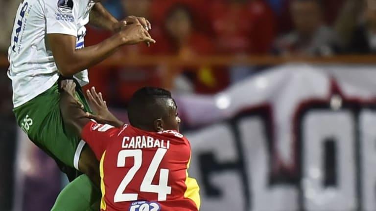 Emelec está tras los pasos de Bryan Carabalí