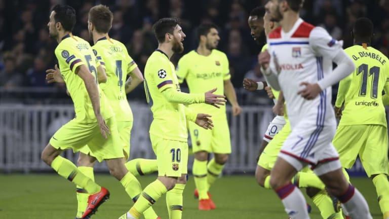 La última eliminación europea del FC Barcelona tras empatar sin goles en la ida