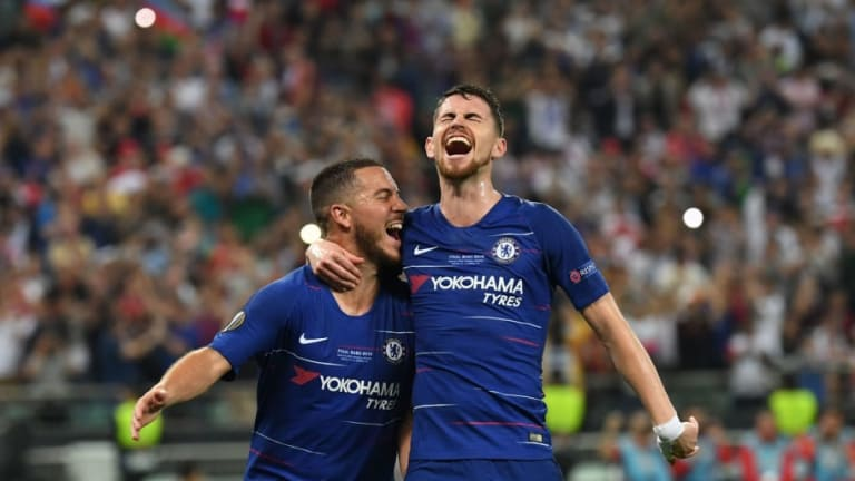Twitter Reacts as Hazard & Giroud Pounce on Arsenal Collapse to Crown Chelsea UEL Champions