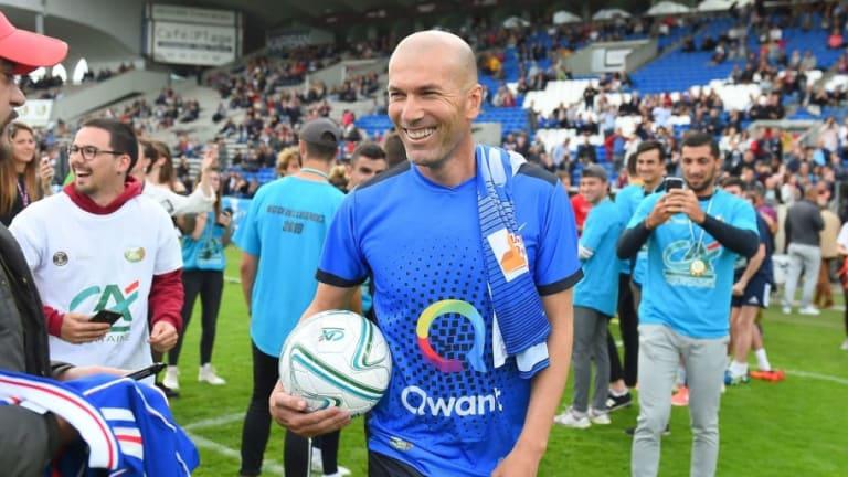 """Zidane sobre el futuro de Mbappé: """"Está bien donde está"""""""