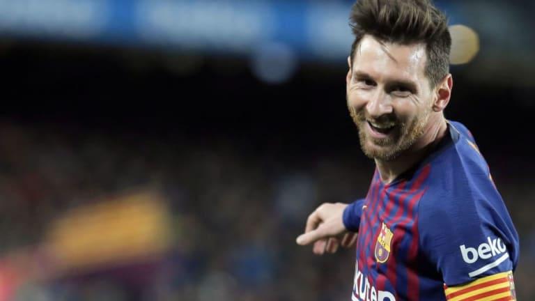 La reacción de Neymar al partido de Messi y Suarez contra el Atlético de Madrid