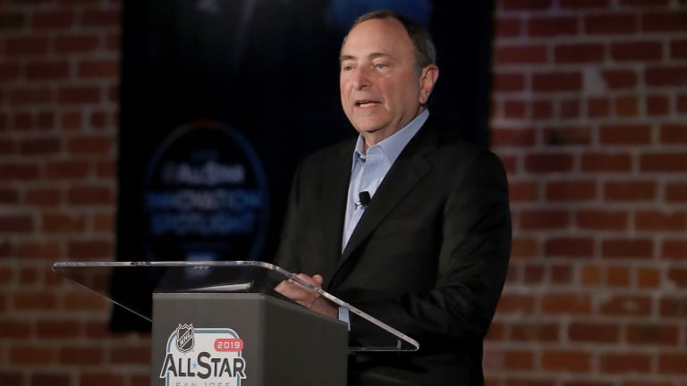 Gary Bettman: NHL Owners Not 'Looking for a Fight' in CBA Talks