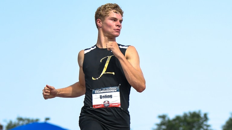 Matthew Boling Wins Gatorade National Track and Field Athlete of the Year