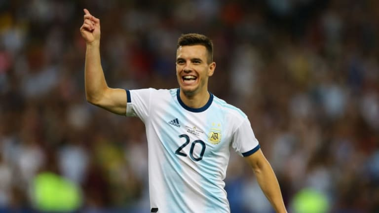 Venezuela 0-2 Argentina: Lautaro Martinez & Giovani Lo Celso Strikes Set Up Semi-Final With Brazil