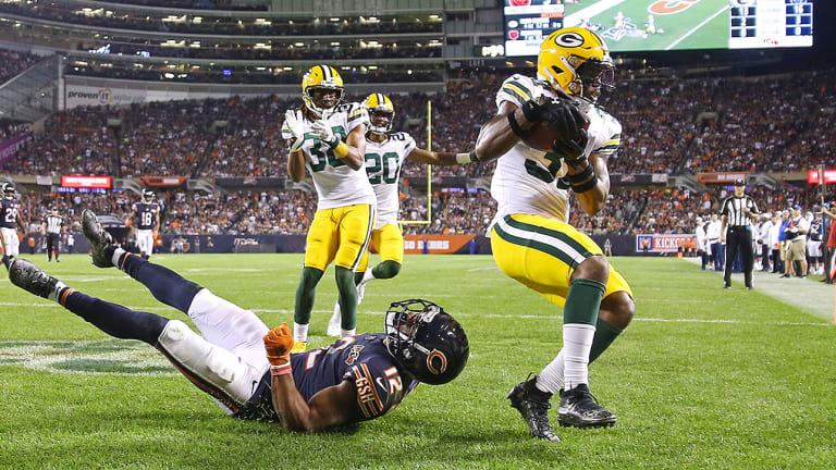 Packers Vs Bears Adrian Amos Int The Highlight Of A