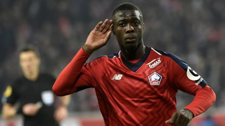 Arsenal & Man Utd Alerted as Lille Admit They May Be Powerless to Stop Nicolas Pépé Leaving