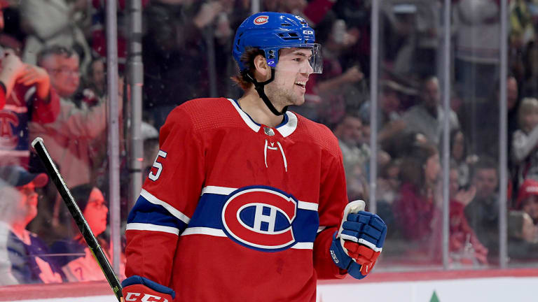 Ryan Poehling Gets Hat Trick, SO Winner in NHL Debut for Canadiens