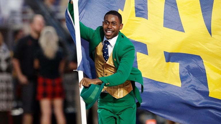 At Notre Dame, Tradition Meets Progress Through Its Famous Leprechaun Mascot
