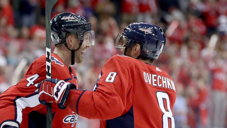 Playoff Roundup: Capitals Turn to Unlikely Hero in Wacky Overtime Win, Bruins Get Even