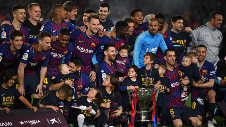 Barcelona 1-0 Levante: Report, Ratings & Reaction as Barça Are Crowned Champions of Spain Again