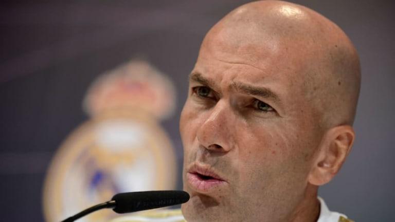 """Zidane: """"James está en forma y estoy contento de tenerlo en la plantilla"""""""