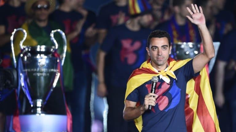 Xavi podría ser el entrenador del Barcelona la próxima temporada