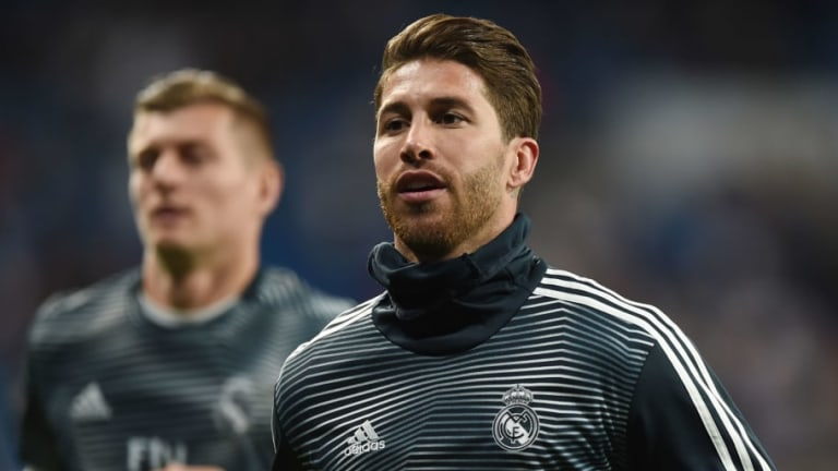Sergio Ramos Ridiculed for Deliberate Booking as Real Madrid Crash Out of Champions League