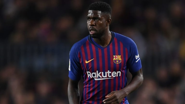 Barcelona Ready to Listen to Offers for Samuel Umtiti as Man Utd Prepare £77m Bid