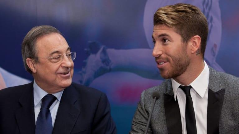 Sergio Ramos le cantó a Florentino las verdades del madridismo