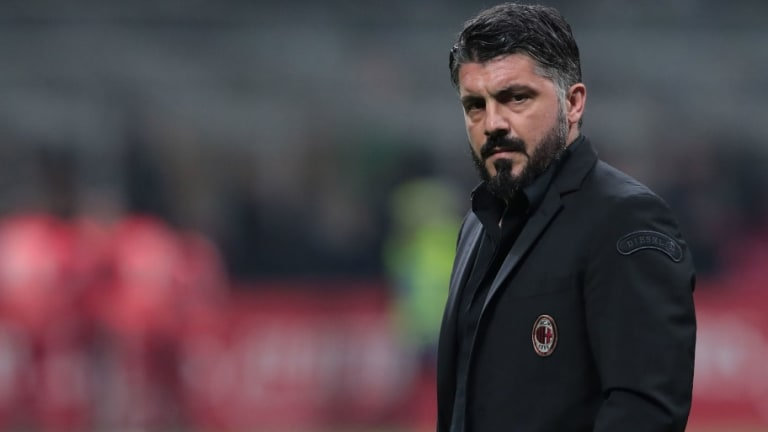 Gennaro Gattuso Defends Milan's Performance Despite Frustrating Loss to Sampdoria