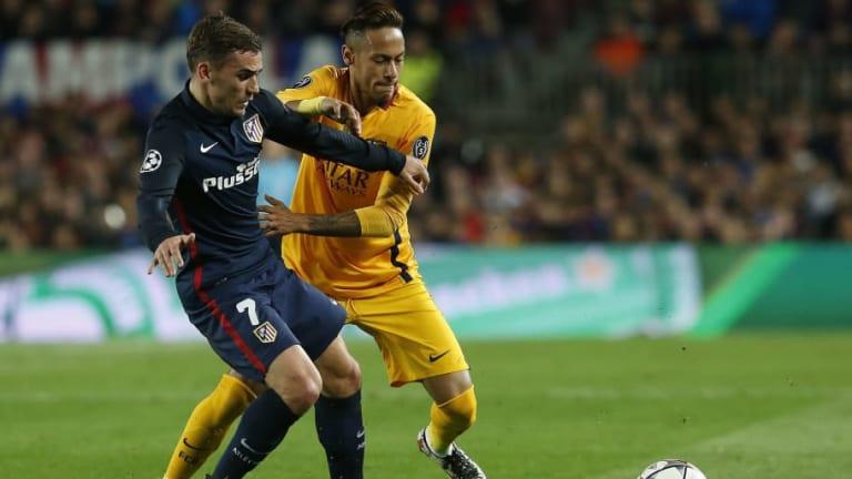 Así sería en el once titular del FC Barcelona si el club ficha a Neymar y a Griezmann