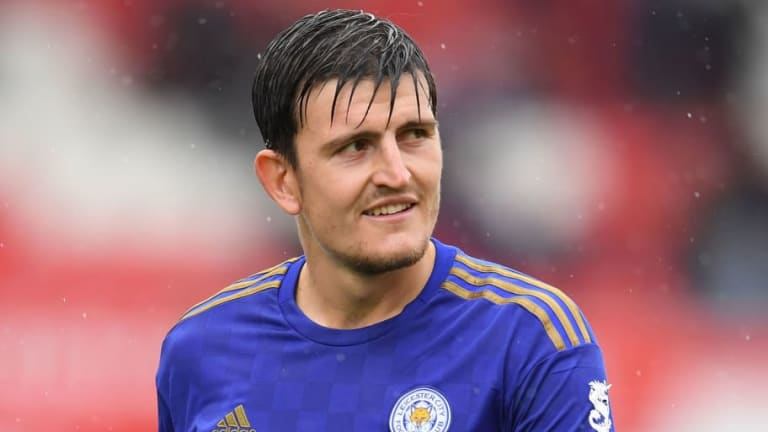 Harry Maguire's Agent Visits Man Utd Training Ground as Leicester Defender Returns to Action