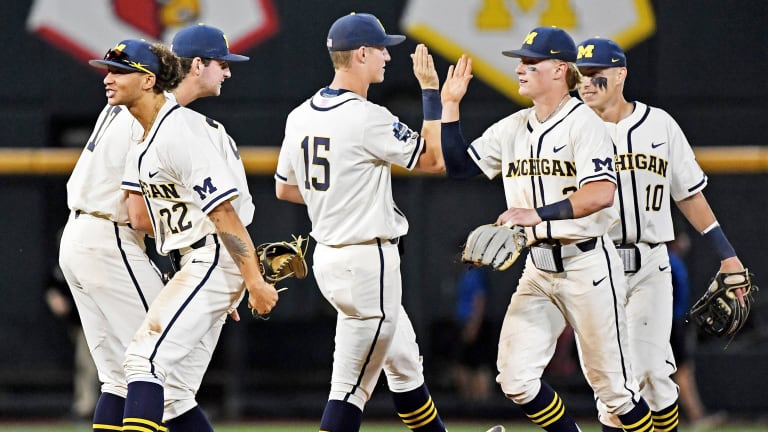 Underdog Michigan Beats No. 2 Vanderbilt in CWS Finals Game 1, One Win Away From Title