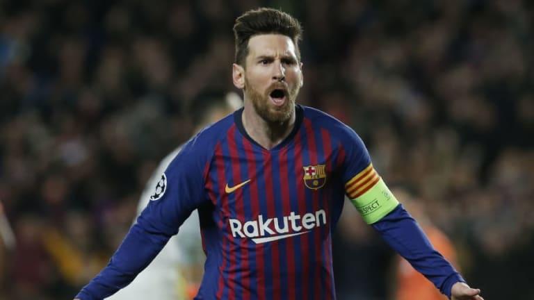 El FC Barcelona nunca cayó en una eliminatoria de Champions en la que haya marcado Leo Messi