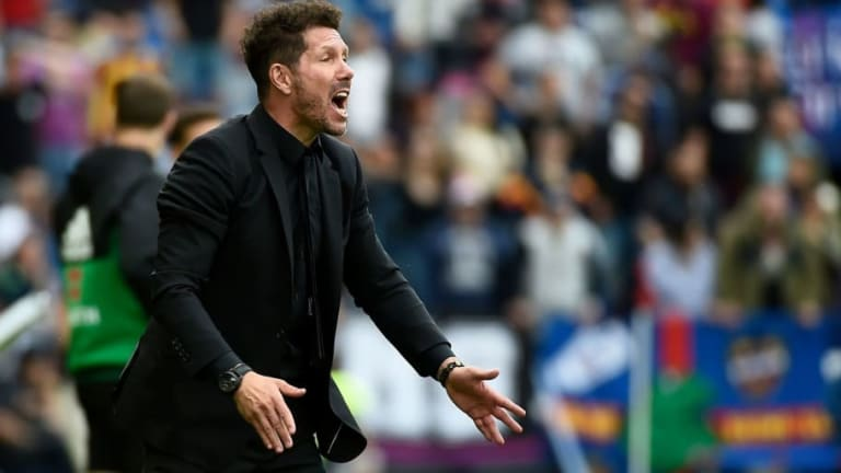 """Simeone pide mantener la calma: """"No veo más allá del próximo partido, de mejorar"""""""