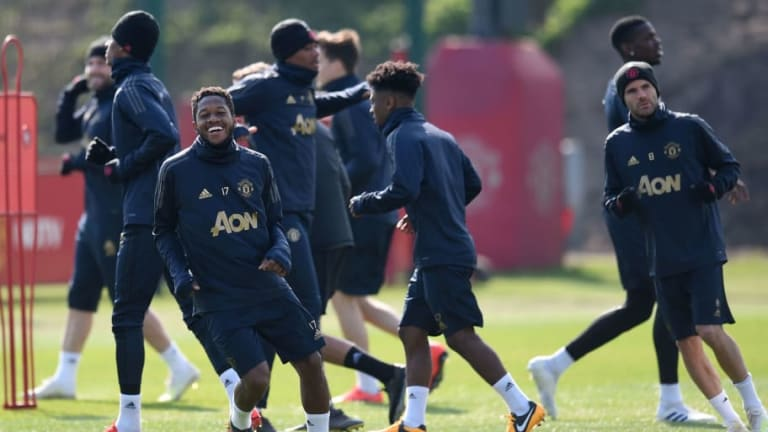 Manchester United Players Return for First Day of Pre-Season Training