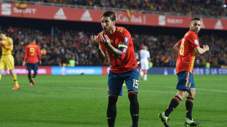 Sergio Ramos le dedicó el triunfo a Luis Enrique por el difícil momento por el que pasa