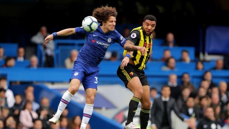 David Luiz extendió su contrato con el Chelsea hasta 2021