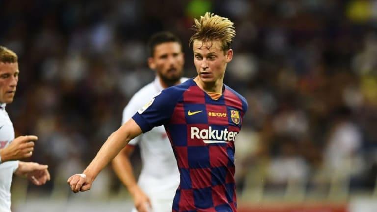 Los números de Frenkie de Jong en la pretemporada ilusionan a toda la afición del FC Barcelona