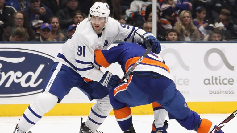 It's Too Bad John Tavares Can't Face His Old Islanders Teammates in the Playoffs Right Away