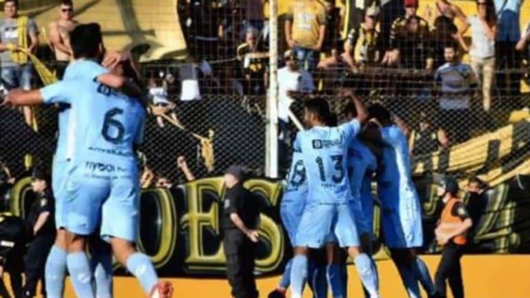 COMO EL DE MESSI    El mejor gol del fin de semana en Argentina fue en la B Nacional