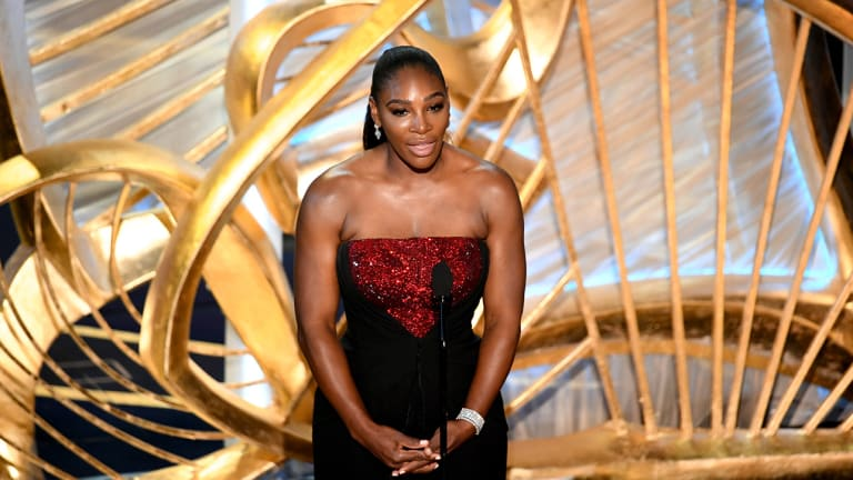 Watch: Serena Williams Gives Inspiring Speech at Oscars to Introduce 'A Star Is Born'
