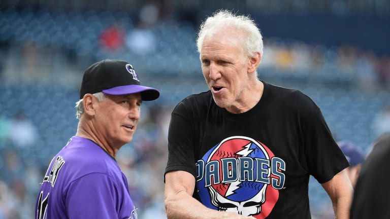 Friday's Hot Clicks: Bill Walton Apparently Delayed the Padres Game